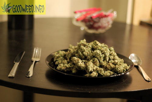 WEED-ON-A-PLATE